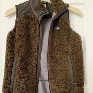 Patagonia Retro Pile Brown Fleece Vest